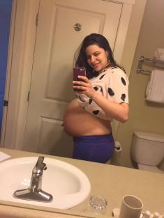Ultima foto gravida